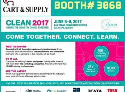 CLEAN SHOW 2017 LAS VEGAS (CART & SUPPLY BOOTH#3068)