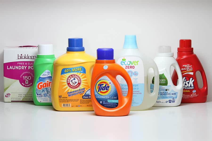 A REVIEW OF SIX GREEN LAUNDRY DETERGENTS